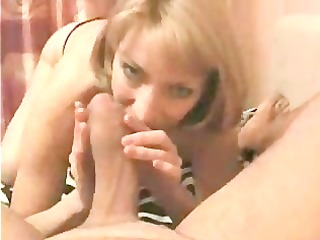 sexy golden-haired mom is engulfing the hell out