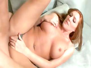 busty redhead d like to fuck gives her date head
