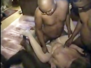 classic cuckold wifey gets team-fucked by bbcs