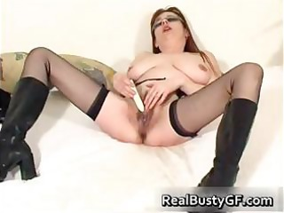 breathtaking round tits mommy sex toy screwed