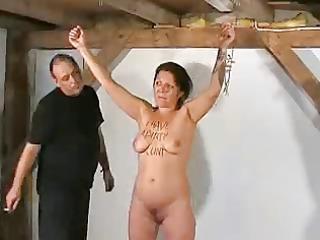 Mature bitch humiliated
