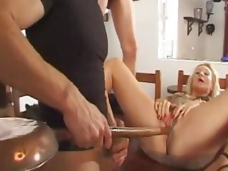 blonde french aged acquires dicks for her to take