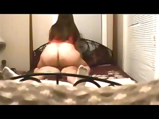chubby wife drilled on real homemade