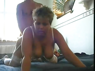 aged big beautiful woman takes a juvenile cock in