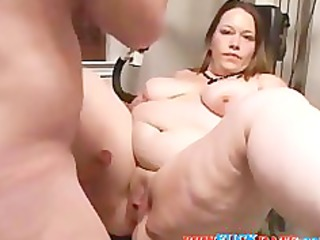 Home Filming Very Anal Fat Wife