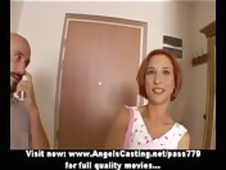 non-professional astounding redhead hawt wife