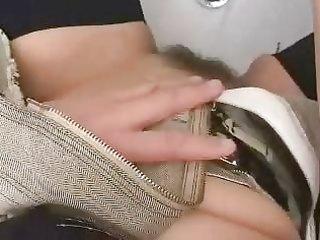mature mom copulates in toilet