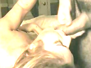 wife swallows cum whilst playing with her cookie