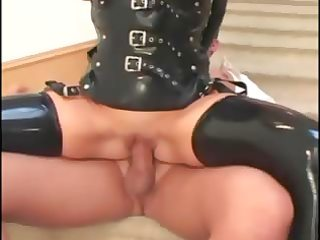 breasty d like to fuck fucking in latex nylons