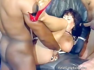 large boobed wicked breasty dark brown milf