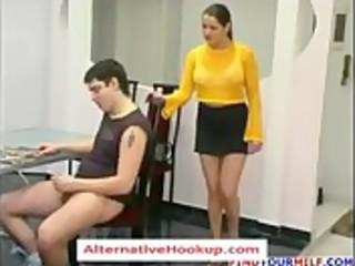 russian aged mom oksana 6 - aged sex clip -