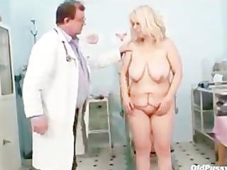 granny miriam fetish gyno exam speculum exam