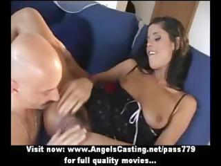 sexy dark brown dilettante mom getting snatch