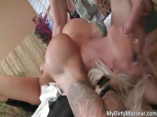 astonishing blond mother i lolly ink blows