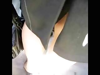 hot legs russian aged women!