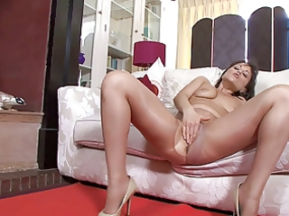 mother i in shiny hose