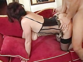older mama male spunk fountain after orgasm by