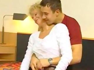 german mommy fucks on camera