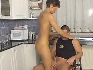kitchen fucking enjoyment with hawt mother i mom