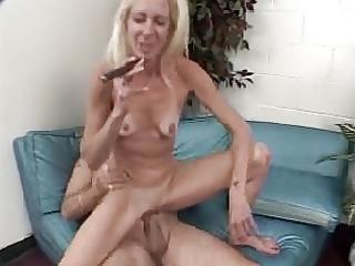 old cigar smoking dude bonks aged woman (9-1)