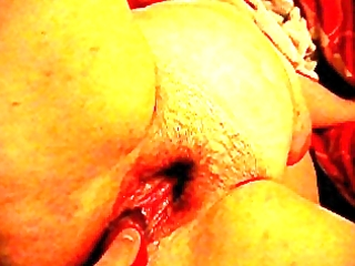 wife shafted with vibrator very moist
