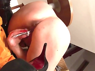 older woman masturbation