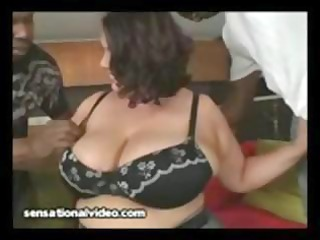 latin chick wife receives dped by large darksome