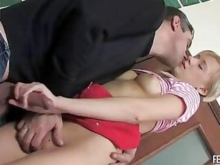 older boy seduces a gal