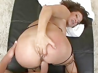 aged housewife acquires filled