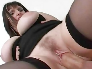 cheating big breasted wife receives titty drilled