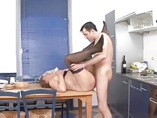 grandma martha in the kitchen
