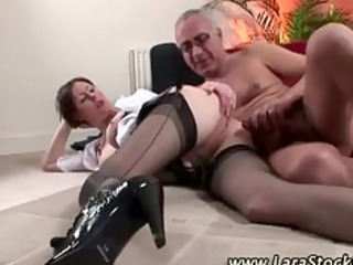 aged office lady pussyfucked