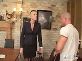 blond d like to fuck fisting on table, spunk flow