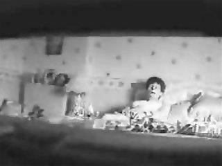 mama voyeured. hidden cam in bedroom caught her