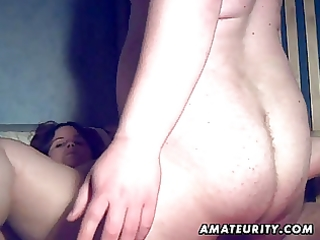plump dilettante wife sucks and copulates with