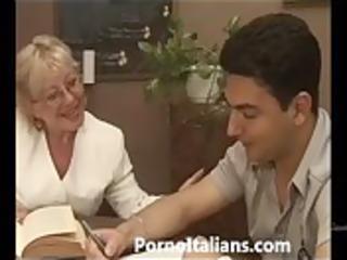 older granny italian - nonna vogliosa di cazzo