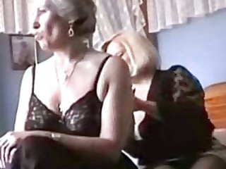 grannies play in underware and nylons