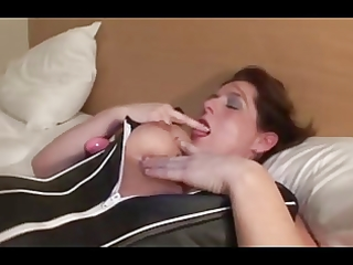 aged mother i in open pantyhose toys and bonks