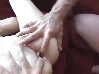 hawt granny anal drilled