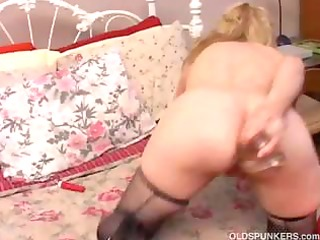 aged non-professional anal fetish