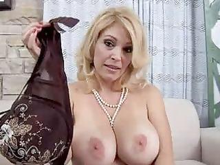 mom with biggest natural breasts sucks rod pov