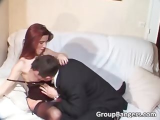 barefaced redhead and blond d like to fuck share