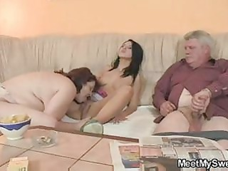 blameless girl is tempted by her boyfriends mama