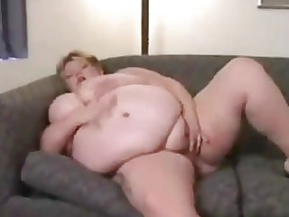 fat abode wife masturbates alone