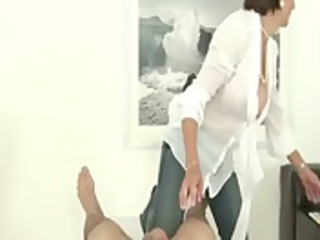 mature fetish dick hardens