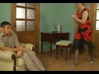 lascivious older blondie seducing blameless chap