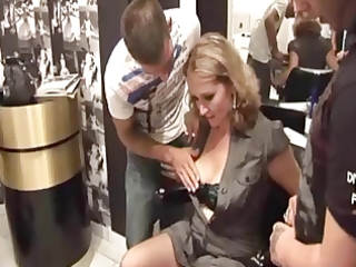 lola french older group-fucked in nylons