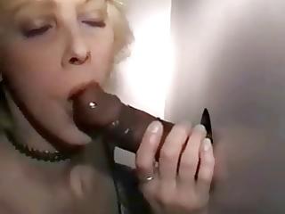 wife marys gloryhole cock juice day