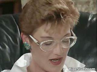 aged bitch acquires her cum-hole fist hard part9