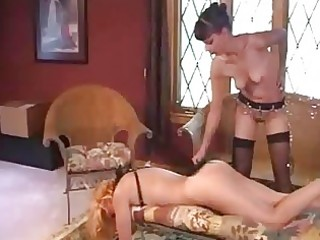 aged lesbo servitude and flogging